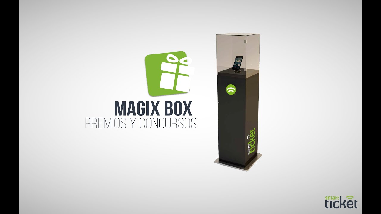 Magix Box - Smart Ticket - YouTube