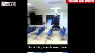 Security guard tapes poltergeist activity in Costa Rica