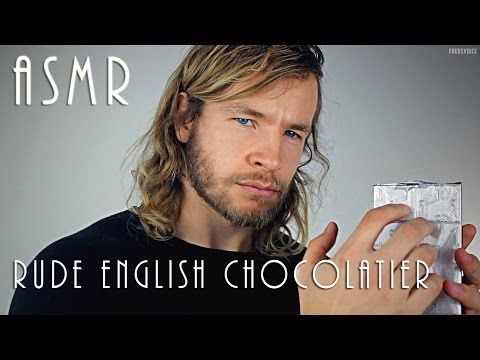 Rude English Chocolatier - ASMR
