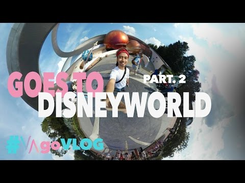 GOES TO DISNEYWORLD (Part. 2) | #VAgoVLOG eps. 15