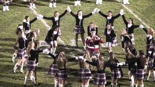 Riverview High School Kiltie Band Half time Show 10/16/2015 RHS vs MHS