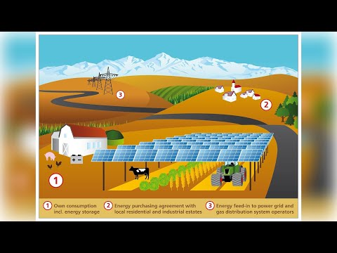 Agrivoltaics. What is it?