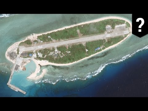 South China Sea: Is Taiwan building anti-aircraft gun towers on Taiping Island? - TomoNews