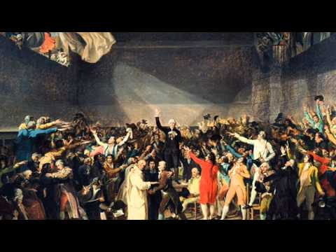 20th June 1789: National Assembly swears the Tennis Court Oath