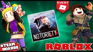 Nuevo Evento Roblox Developer Events: Notoriety community events