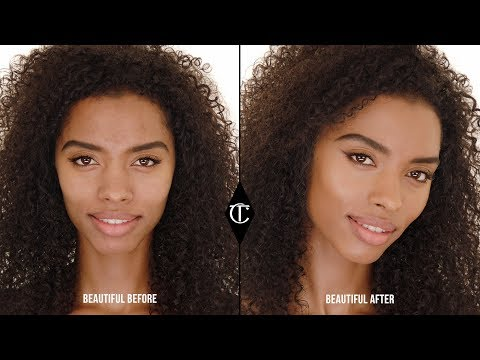 How to use Hollywood Flawless Filter to BLEND with your foundation | Charlotte Tilbury