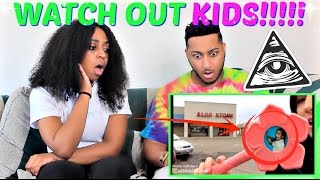 "Shane Dawson ""CHILDREN SHOW CONSPIRACY THEORIES"" REACTION!!!!"