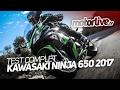 KAWASAKI NINJA 650 2017 | TEST COMPLET