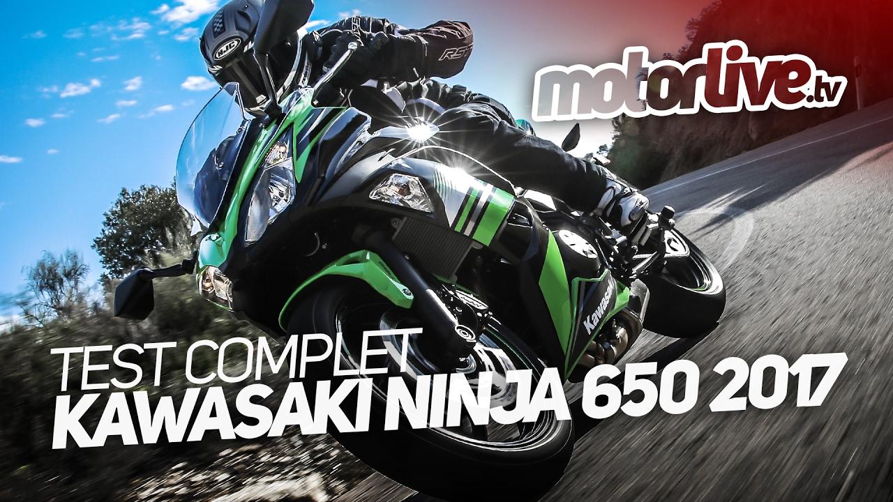 Kawasaki Ninja 650 2017 Test Complet Youtube