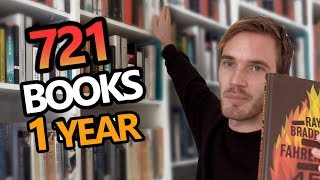 I read 721 books in 2018