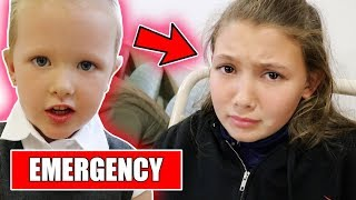 RUSHED TO HOSPITAL FROM SCHOOL!
