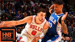 Philadelphia Sixers vs Chicago Bulls Full Game Highlights | 10.18.2018, NBA Season