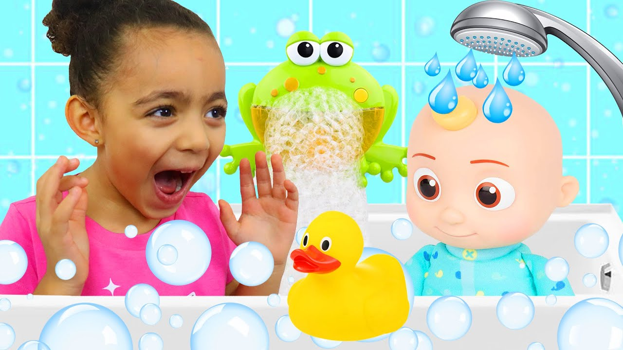 Let's Take a Bath Kids Song + More Pretend Play Nursery Rhymes & Kids Songs