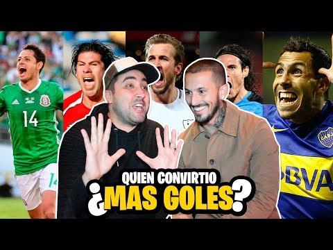 QUE JUGADOR CONVIRTIÓ mas GOLES? con DARIO BENEDETTO