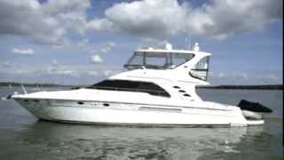 sea ray 56 sedan bridge