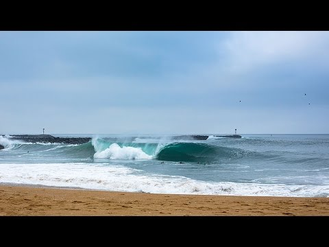 Surfline Live Replay: The Wedge