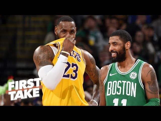bfdf519ae52 Stephen A. Smith and Max Kellerman agree that the Boston Celtics GM Danny  Ainge must go all in to keep Kyrie Irving in the summer.