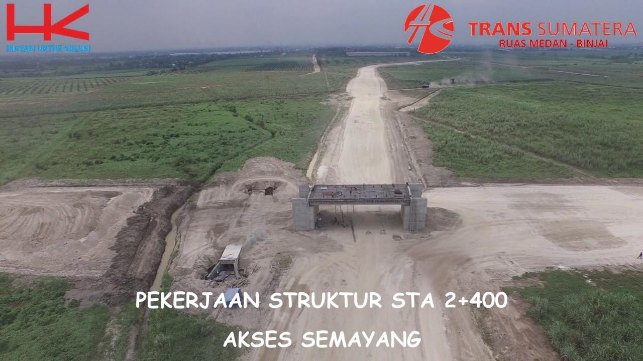 Download 1  Video Drone Seksi 3 Ruas Medan Binjai 25 Maret 2016
