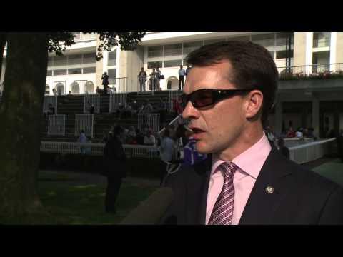 Interview with Aidan O'Brien - Weekend of Qatar Prix de l'Arc de Triomphe