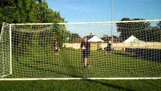 Uhlsport Ergonomic SS Euro 2012 Goalkeeper Glove - Product Play Test