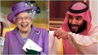 Queen Elizabeth Scared King of Saudi Arabia So Hard.