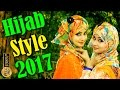 Hijab styles tutorial 2017 for teenagers round face – Very easy and simple Abaya Hijab Fashion