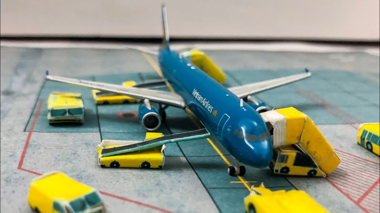 Gemini Jets 1 400 Vietnam Airlines A321 200 Vn A398 Episode 4 Mo Hinh May Bay Youtube