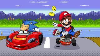 Quartz Quadrant Past - (Super Mario Kart Remix)