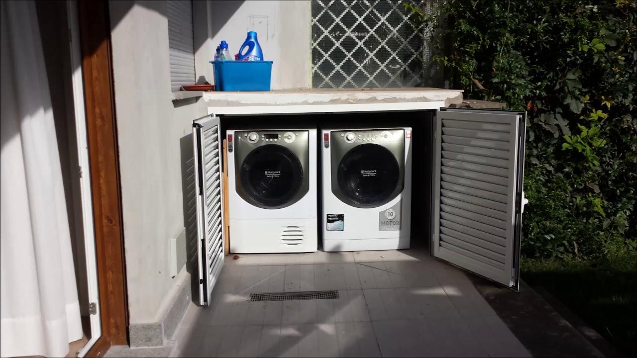 copri lavatrice su misura in alluminio youtube ForCoprilavatrice Alluminio