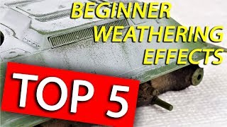Top 5 Weathering Tips I Recommend for Beginners thumbnail