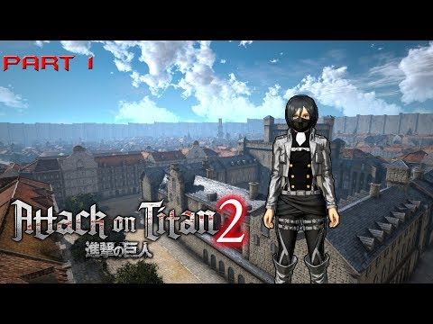 Attack On Titan 2 Walkthrough Pt 1: Character Creation (No Commentary)