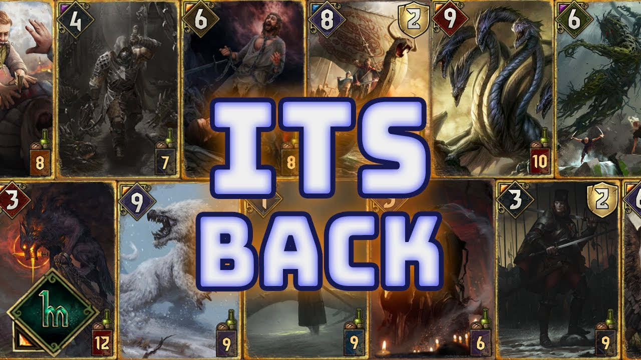 [Gwent] CUSTOM CARDS ARE BACK