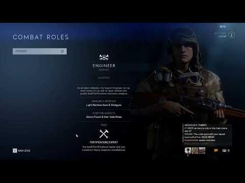 Battlefield V Open Beta - clean gameplay - MAP Rotterdam - GTX1060