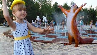 Детское видео. Гуляем в парке СемьЯ  Нижнекамск