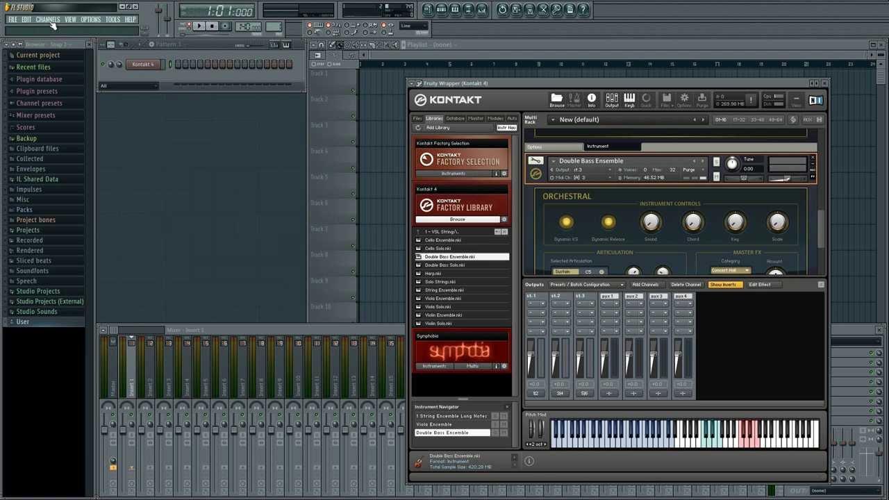 Kontakt 5 manual download - Routing Kontakt In Fl Studio