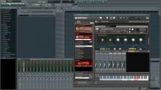 Routing Kontakt in FL Studio
