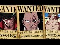 One Piece - TOP 20 Highest Unknown Bounties