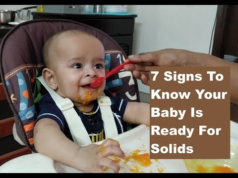 IS YOUR BABY READY FOR SOLID FOOD: 7 SIGNS