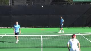 02 07 2010  USC Vs USD mens tennis doubles 4 of  8