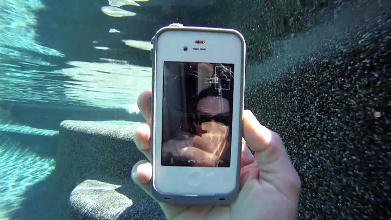 sports shoes 20e79 85cc4 iPhone 4s FaceTime video underwater with LifeProof case | MicBergsma
