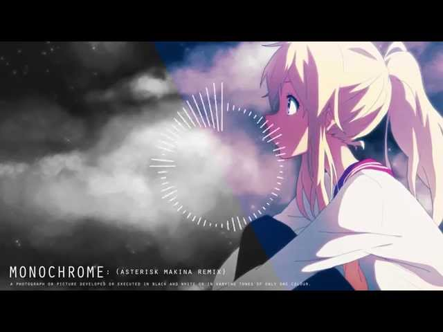 Asterisk - Monochrome