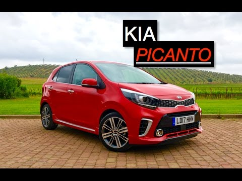 2017 kia picanto gt line s review inside lane youtube. Black Bedroom Furniture Sets. Home Design Ideas