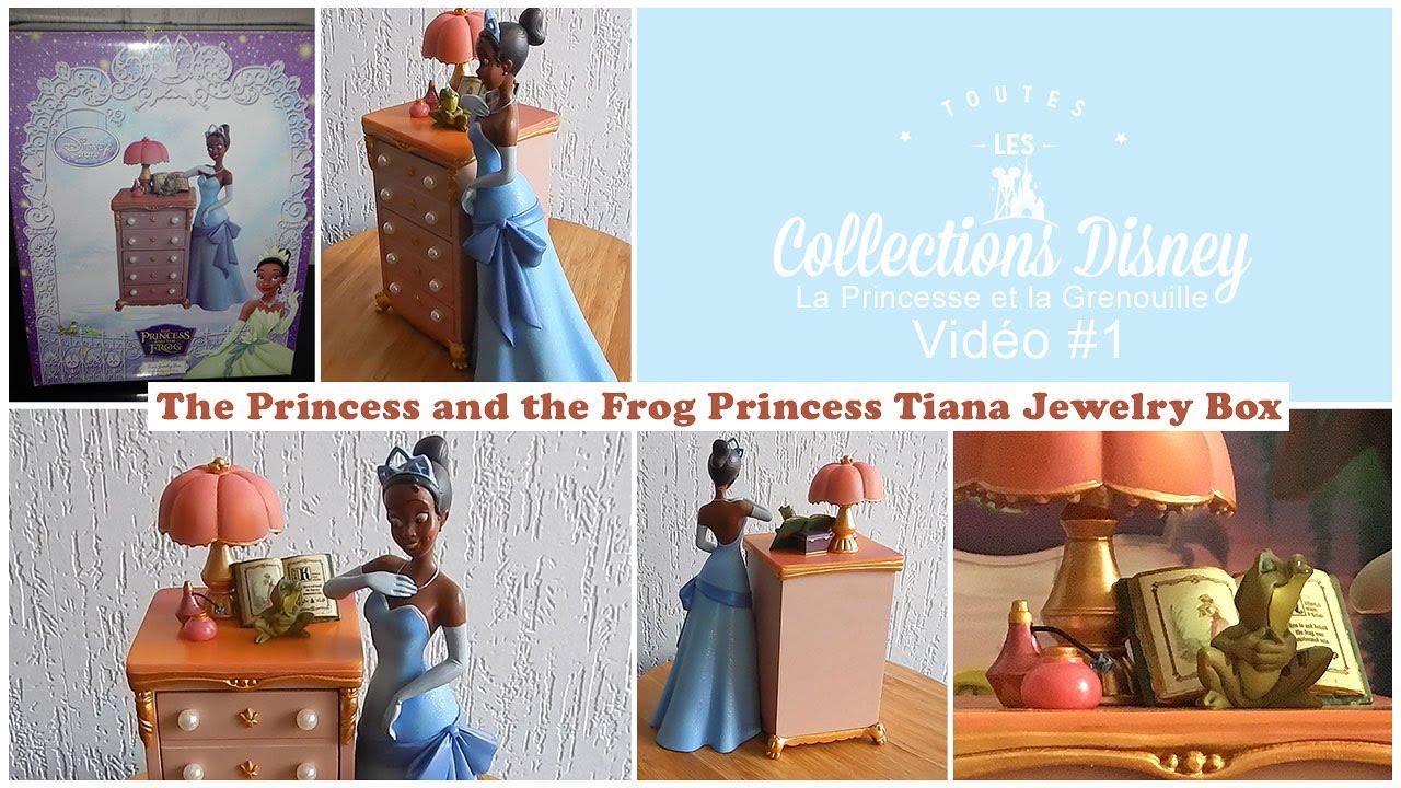 The Princess and the Frog Princess Tiana Jewelry Box YouTube