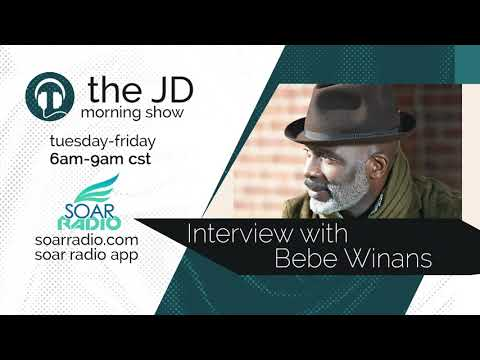 The JD Morning Show interviews Bebe Winans #soarradio
