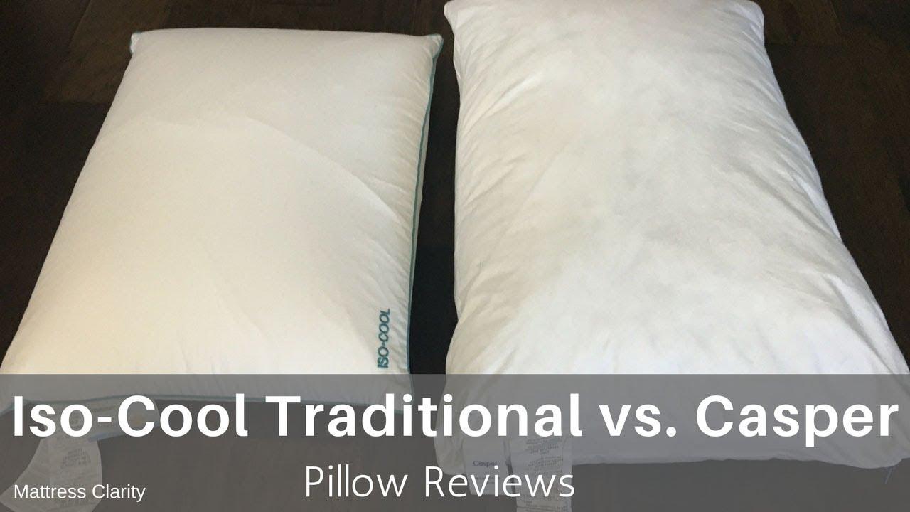 new styles 9d11e a507b Pillow Reviews: Iso -Cool Traditional vs. Casper - Mattress ...