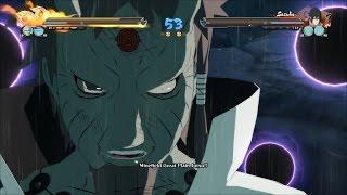 Naruto Shippuden Ultimate Ninja Storm 4 - Hagoromo, Kaguya, Madara vs Naruto, Sasuke, Sakura