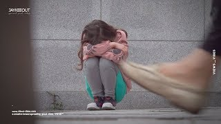 😦 lost girl crying on the streets of korea | social experiment