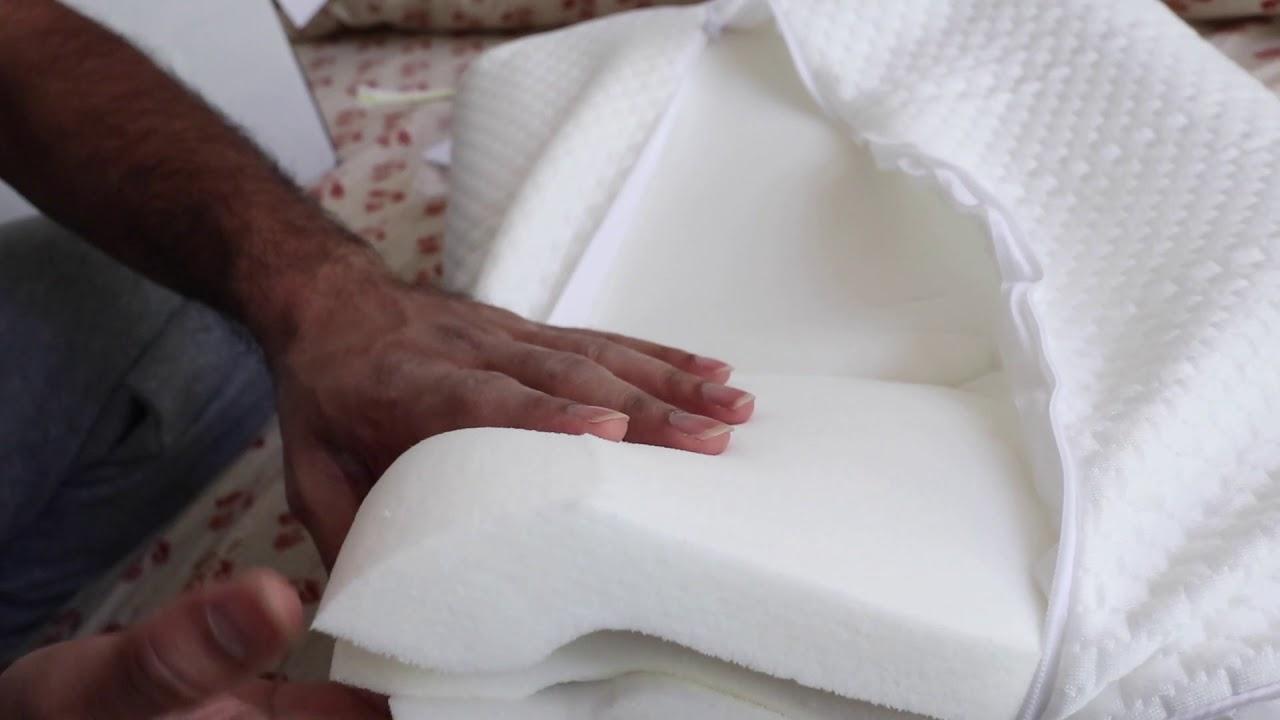 unboxing coop amazon s highest rated pillow with 15k reviews vs uttu uttu sandwich pillow