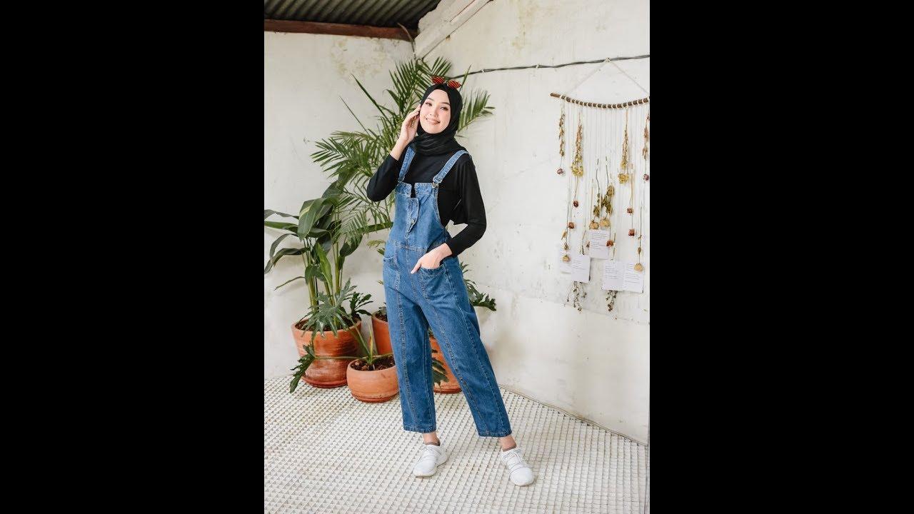 Baju Muslim Wanita Pakaian Stelan Casual Modern Hijab ...