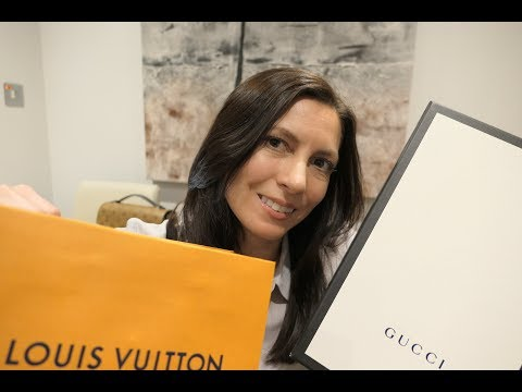 What I bought in London - LV, GUCCI, ARTIS